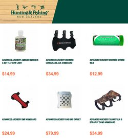 Sport offers in the Hunting & Fishing catalogue in Auckland ( 5 days left )