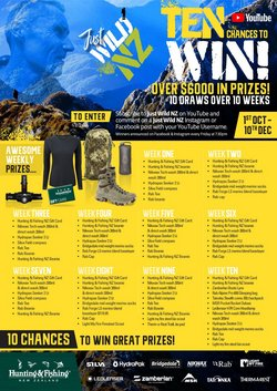 Sport offers in the Hunting & Fishing catalogue ( More than a month)