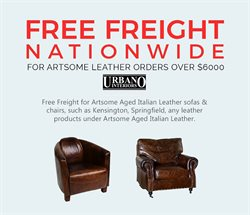 Offers from Urbano in the Auckland special
