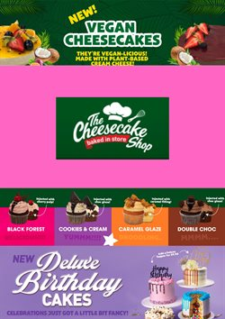 The Cheesecake Shop catalogue ( More than a month )
