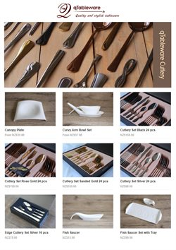 Offers from qTableware in the Auckland special