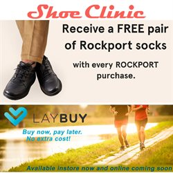 Offers from Shoe Clinic in the Auckland special