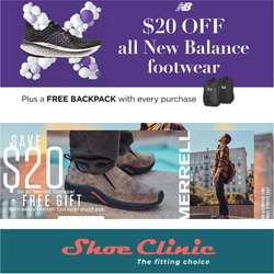 New Balance offers in the Shoe Clinic catalogue ( 3 days left)