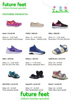Offers from Future Feet in the Auckland special
