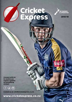 Offers from Cricket Express in the Auckland special