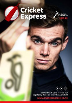 Cricket Express catalogue in Auckland ( More than a month )