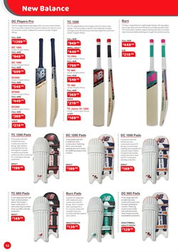 New Balance offers in the Cricket Express catalogue ( More than a month)