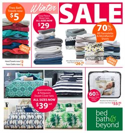 Offers from Bed Bath and Beyond in the Temuka special
