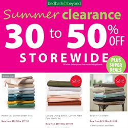 Homeware & Furniture offers in the Bed Bath and Beyond catalogue in Tauranga ( 3 days left )