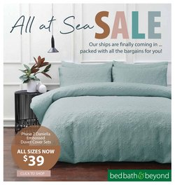 Bed Bath and Beyond catalogue in Wellington ( Expired )