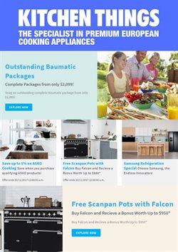 Offers from Kitchen Things in the Hastings special