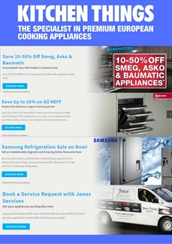 Offers from Kitchen Things in the Auckland special