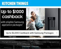 Kitchen Things offers in the Kitchen Things catalogue ( 7 days left)