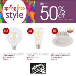 Lighting Direct offers in the Lighting Direct catalogue ( 9 days left)