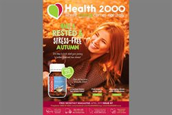 Offers from Health 2000 in the Auckland special