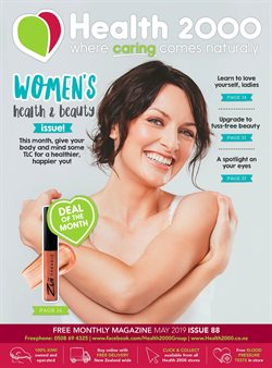 Pharmacy, Beauty & Personal Care offers in the Health 2000 catalogue in Palmerston North