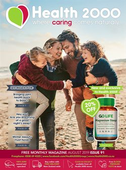 Pharmacy & Beauty offers in the Health 2000 catalogue in Auckland