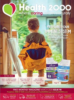Pharmacy & Beauty offers in the Health 2000 catalogue ( Expires today )