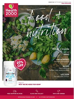 Health 2000 catalogue ( More than a month )