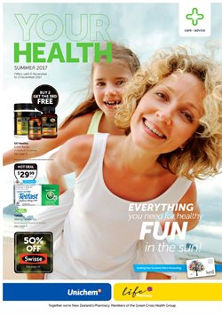 Offers from Life Pharmacy in the Auckland special