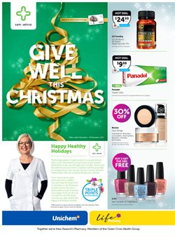 Offers from Life Pharmacy in the Christchurch special