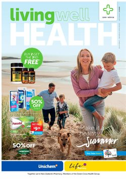 Pharmacy, Beauty & Personal Care offers in the Life Pharmacy catalogue in Christchurch