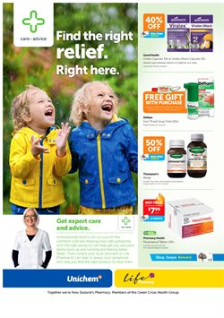 Pharmacy & Beauty offers in the Life Pharmacy catalogue in Auckland
