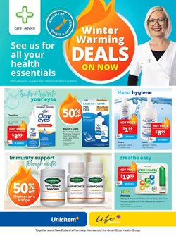 Pharmacy & Beauty offers in the Life Pharmacy catalogue in Dunedin ( 4 days left )