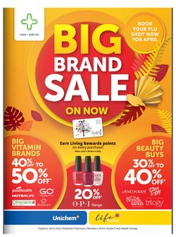 Pharmacy & Beauty offers in the Life Pharmacy catalogue in Auckland ( 24 days left )