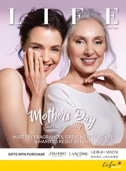 Mother's Day offers in the Life Pharmacy catalogue ( 14 days left)