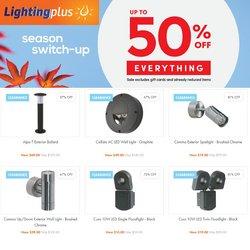 Lighting Plus catalogue ( 1 day ago )