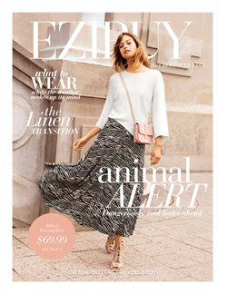 Department Stores offers in the Ezibuy catalogue in Auckland