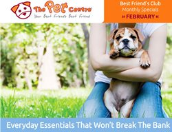 Offers from The Pet Centre in the Wellington special