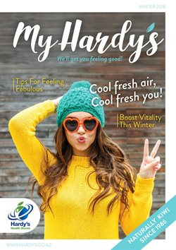 Pharmacy, Beauty & Personal Care offers in the Hardy's Health Stores catalogue in Auckland