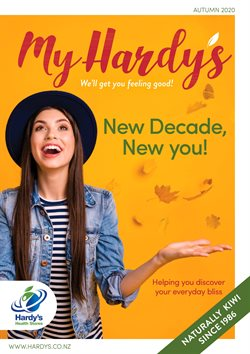 Pharmacy & Beauty offers in the Hardy's Health Stores catalogue in New Plymouth ( More than a month )