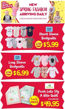 Offers from The Baby Factory in the Auckland special