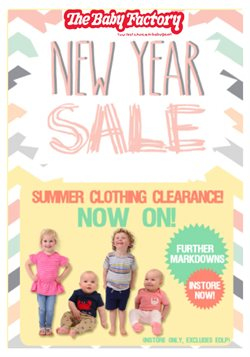 Kids, toys & babies offers in the The Baby Factory catalogue in Hastings