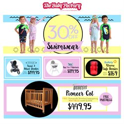 Kids, toys & babies offers in the The Baby Factory catalogue in Christchurch