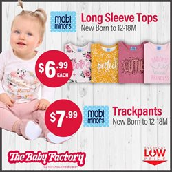 Babies, Kids & Toys offers in the The Baby Factory catalogue ( 21 days left )