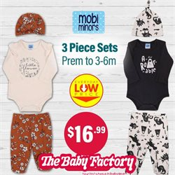 Babies, Kids & Toys offers in the The Baby Factory catalogue ( Expires tomorrow )