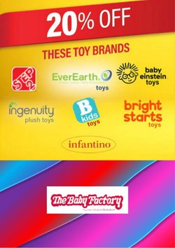 Babies, Kids & Toys offers in the The Baby Factory catalogue in Auckland ( 7 days left )