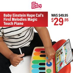 The Baby Factory offers in the The Baby Factory catalogue ( Expires tomorrow)