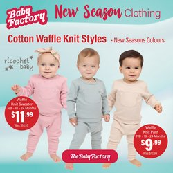 The Baby Factory offers in the The Baby Factory catalogue ( 3 days left)