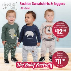 Babies, Kids & Toys offers in the The Baby Factory catalogue ( 9 days left)