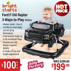 Babies, Kids & Toys offers in the The Baby Factory catalogue ( Published today)