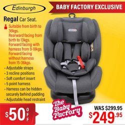 Babies, Kids & Toys offers in the The Baby Factory catalogue ( 6 days left)