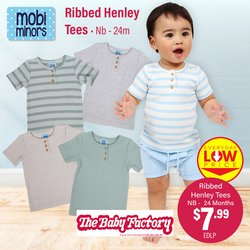 Babies, Kids & Toys offers in the The Baby Factory catalogue ( 2 days left)