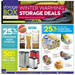 Offers from Storage Box in the Auckland special