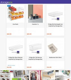 Homeware & Furniture offers in the Storage Box catalogue ( 2 days left)