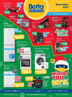 Electronics & Appliances offers in the Betta Electricals catalogue in Katikati